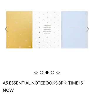 BNIP A5 Kikki.k Notebook Set