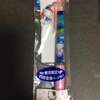 Hello Kitty 日本地區限定原子筆 - 羽田空港