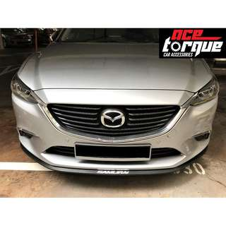 We Install! Samurai Bumper Rubber Protector Lip Skirting available in different designs and colours!