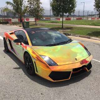 Lambo Gallardo for rent