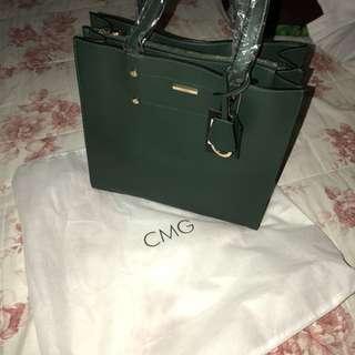 Dark Green Original CMG Office Bag