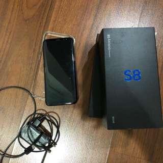 Samsung S8 Fullblack Garansi Resmi Sein Mulus