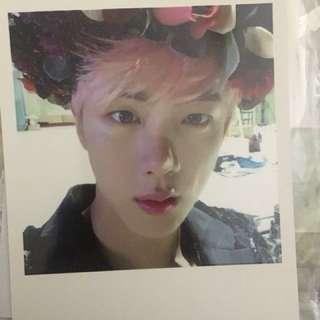 Jin Wings photocard - BTS