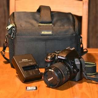 Nikon D3300 24MP DSLR w0ith AF-P Kit Lens 18-55mm VR 2