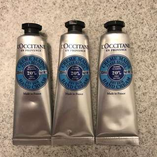 L'occitane hand cream 30 ml