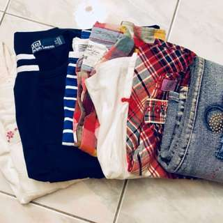 Bundle: Girls tops and bottoms 3 yrs old