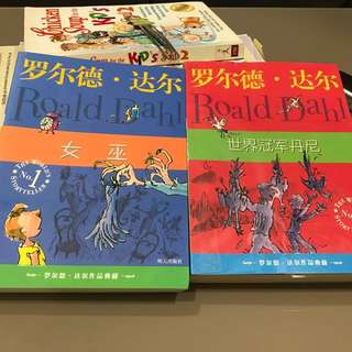 Roald Dahl Books (Chinese)