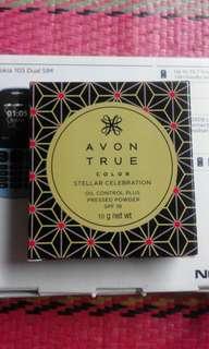 Avon True Color  Stellar Celebration Oil Control Plus Pressed Powder