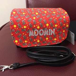 Moomin 側背包 可當化妝包