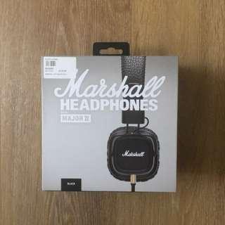 Marshall MAJOR II Headphones *BRAND NEW*