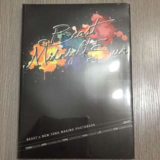 [全新]Beast Midnight Sun New York Making Photobk