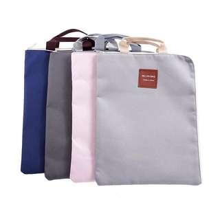 Water proof document storage bag (grey)