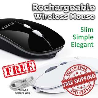 ACTME Rechargeable Wireless Mouse / Bluetooth Mouse