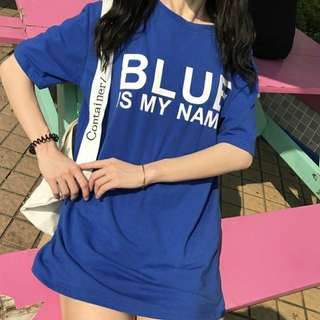 🚚 Blue is my name上衣