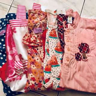 Bundle: Girls dresses 5 yrs old