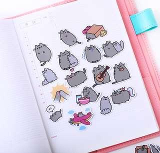 Happy Pusheen Scrapbook / Planner Stickers #68