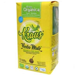 (減肥必試) Kraus 卡路仕有機原味有梗瑪黛茶 500 克 x 1