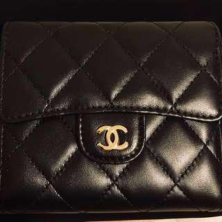 Chanel Wallet 2017 羊皮 銀包 全新全套有單連紙袋 情人節禮物
