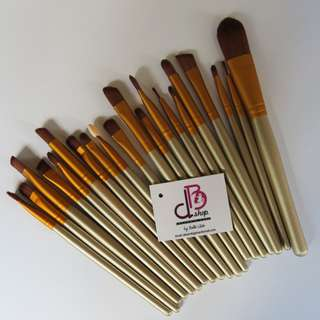 20 Pieces Make Up Brush Set Tools