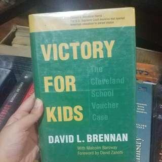 Victory for Kids by David L. Brennan