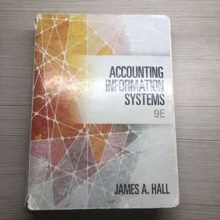 Accounting Information Systems 9e James A Hall