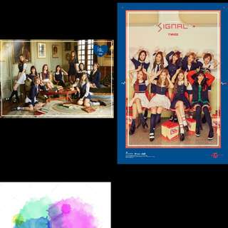 (WTB) TWICE SIGNAL OFFICIAL POSTER