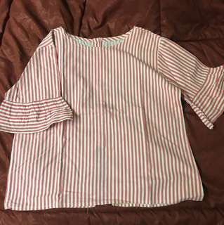 Stripes Pink Shirt