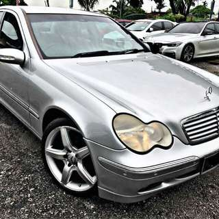 Sambung Bayar Mercedes Benz C200k 1.8