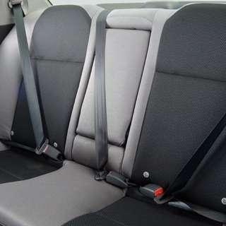Subaru wrx hawkeye rear seats