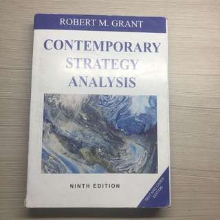 Contemporary Strategy Analysis Ninth Edition Robert M Grant