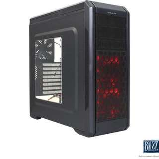 Rosewill Stealth ATX Mid Tower Gaming Computer Case, Black