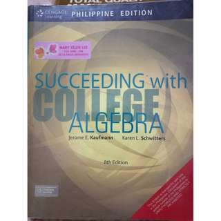 Succeeding with College Algebra 8th Ed. (Kaufmann et al.)
