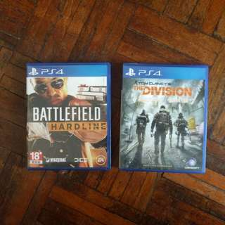 Battlefield Hardline & The division