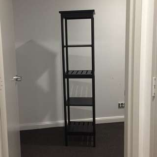 IKEA Black Shelf Unit