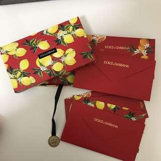 利是封 Dolce & Gabbana red pocket