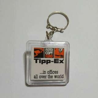 Tipp-Ex key chain