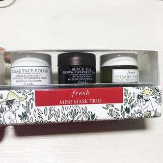 Fresh Mini Mask Trio - Sephora