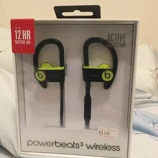 Powerbeats 3 wireless active collection 藍芽無線耳機