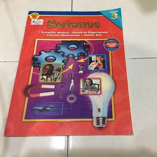 Science book ( grd 3)