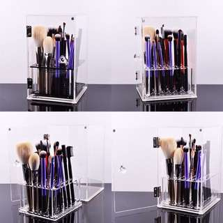Makeup Brush Storage Acrylic Case