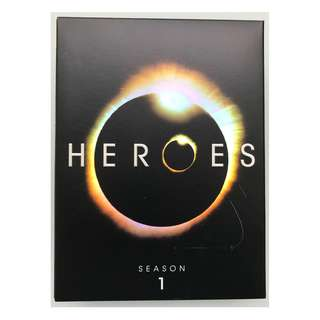 Heroes Season 1 DVD set (7 discs)