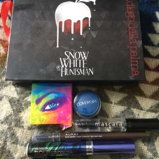 Mixed Eye Bundle and Palette-Diego Dalla Palma, Revlon, Covergirl, Lisa Frank