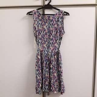 Kitschen Summer Dress with Slits