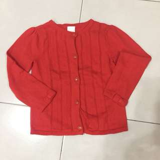 GYMBOREE Red Cardigan