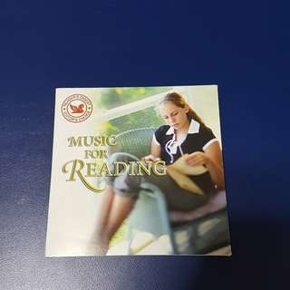 CD - Music For Reading, RD Editor's Choice