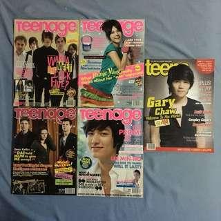 Teenage teens Magazines (poster)
