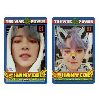 WTB / LF EXO Chanyeol [Official Power Photocard]
