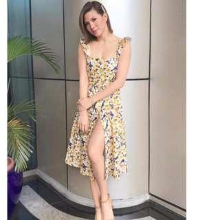 [On-hand] Buttondown Floral Dress