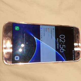Pink Samsung s7