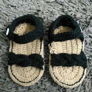 🆕 Baby Girl Crochet Sandal